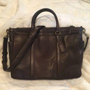 Coach Men's Bleecker Metropolitan Briefcase
